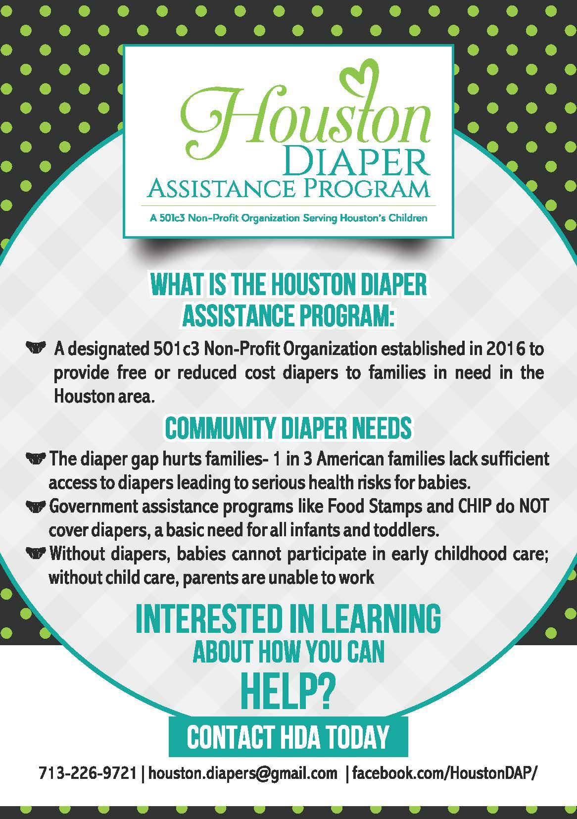 Houston Diaper Assistance Program