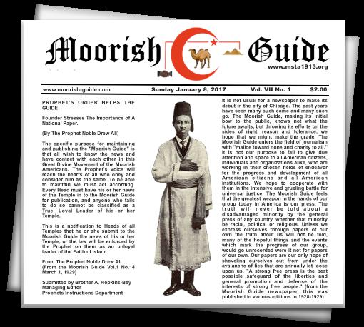 Moorish Science Temple of America